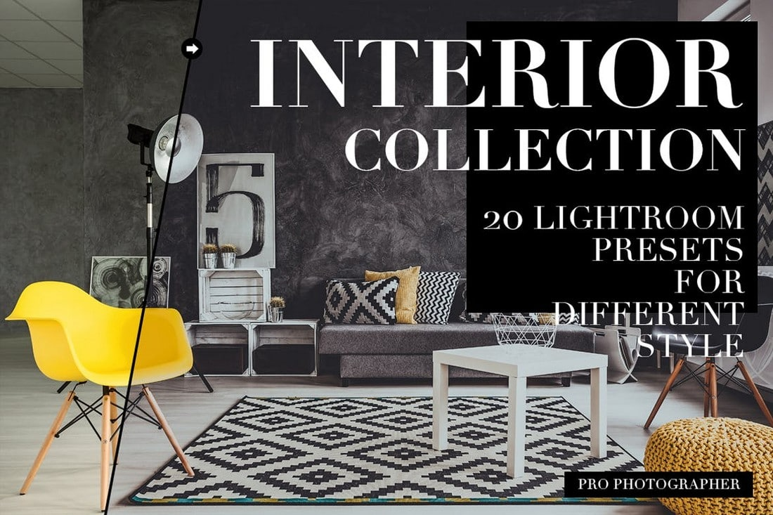 Modern Interior Lightroom Presets