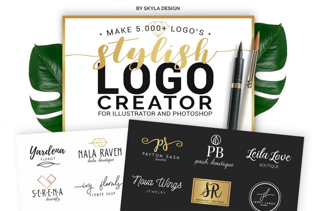 Modern Logo Creator Kit