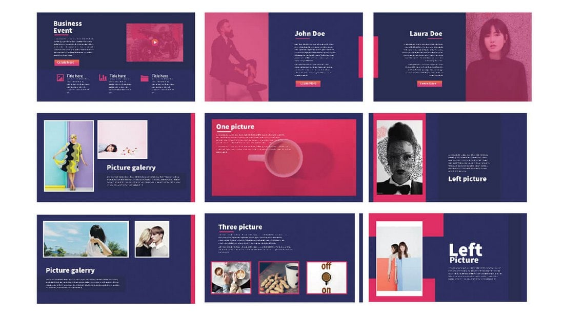 Modern Minimal Free Powerpoint Template