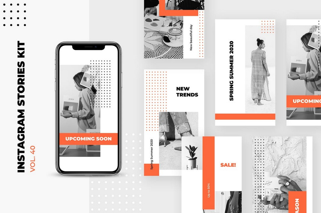 Modern Minimal Instagram Stories Kit