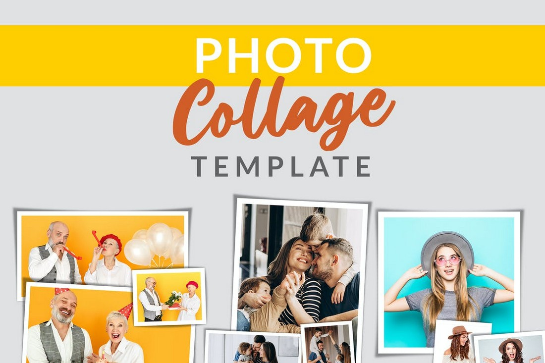 Modern Photo Collage Templates