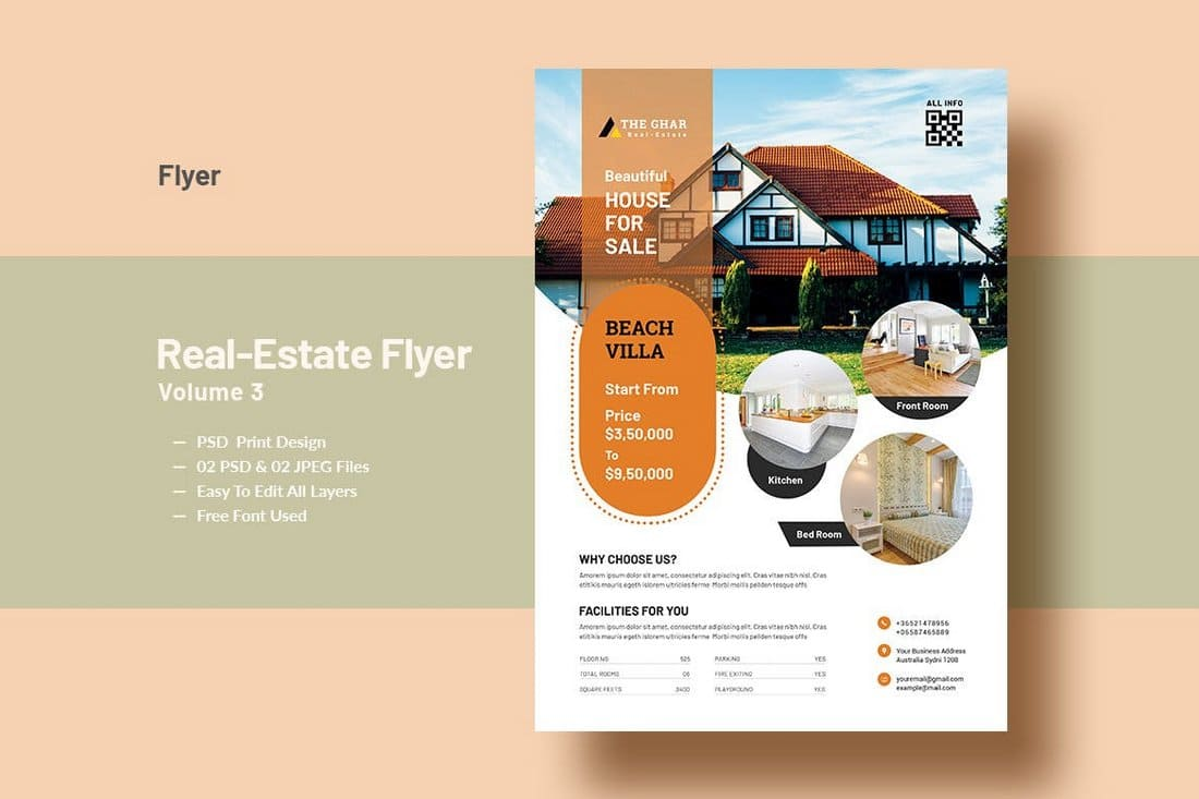 Modern-Real-Estate-Flyer-Template-1 30+ Best Real Estate Flyer Templates design tips  Inspiration|flyer|property|real estate