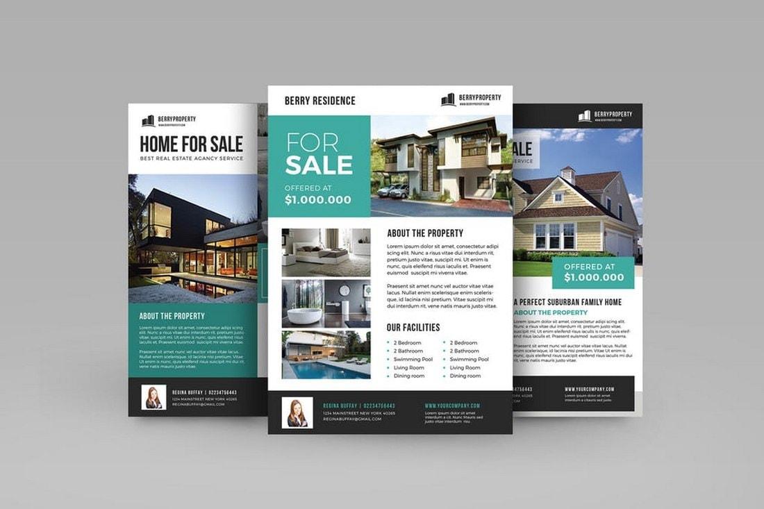 Modern Real-Estate Flyer Template