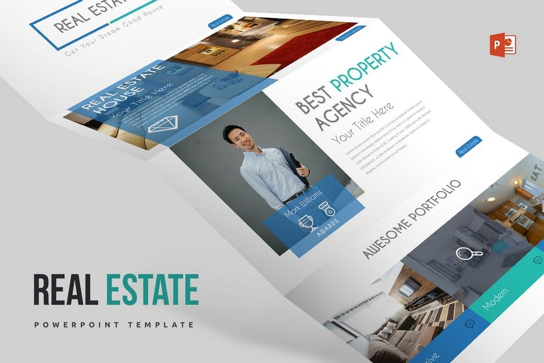 Modern-Real-Estate-Powerpoint-Template 20+ Modern Professional PowerPoint Templates design tips