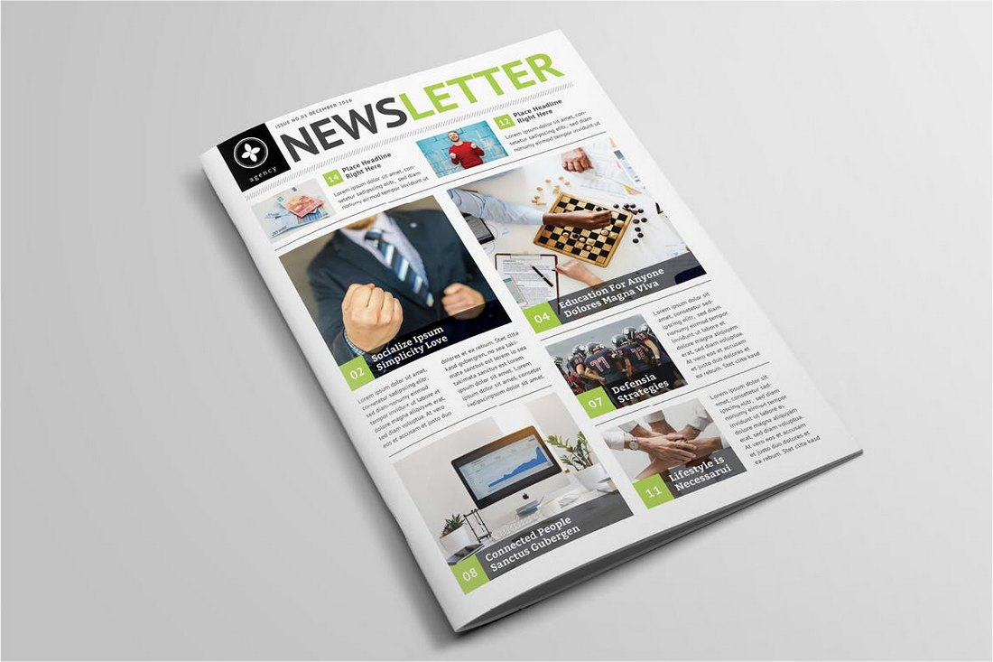 Modern-School-Newsletter-Template 20+ School Newsletter Templates design tips