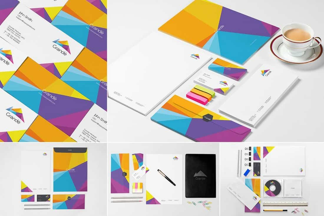 Modern-Stationery-Isometric-Mockup-Template 35+ Best Isometric Mockup Templates design tips