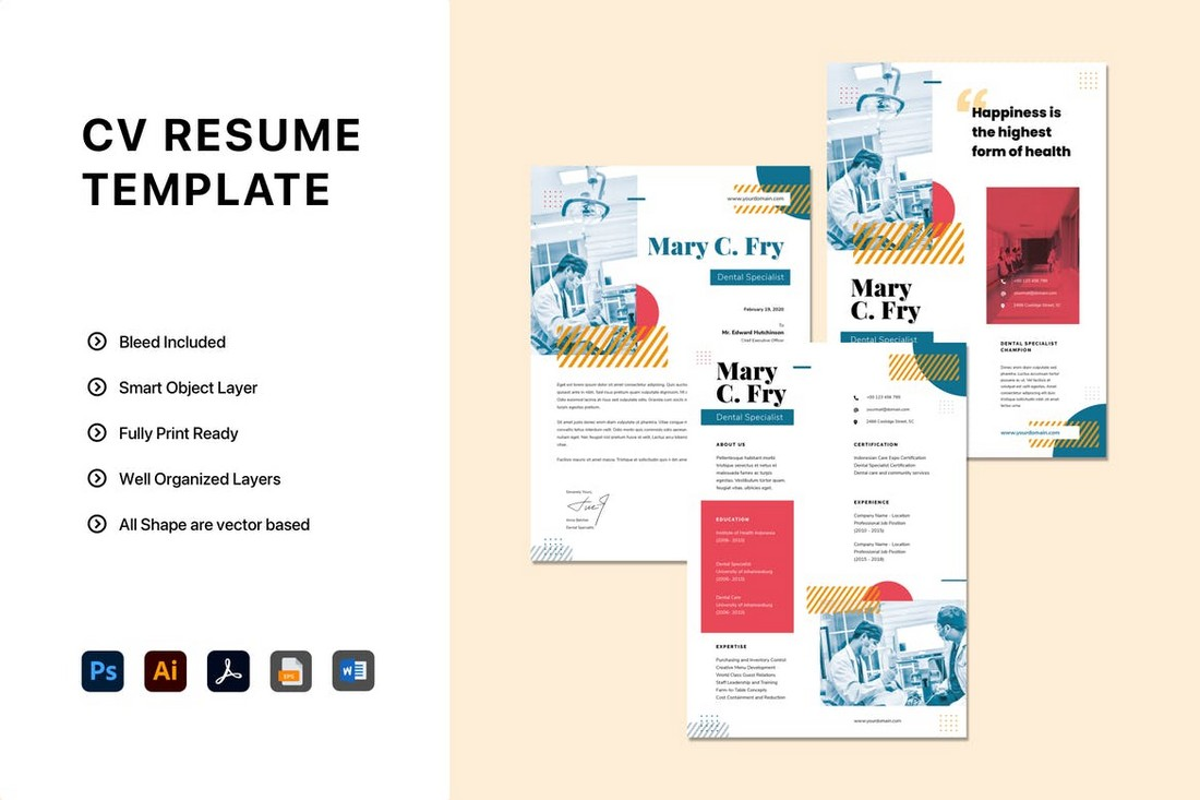 Modern Word Resume Template