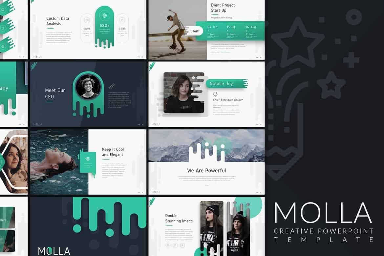 Molla - Modern & Creative Presentation Template