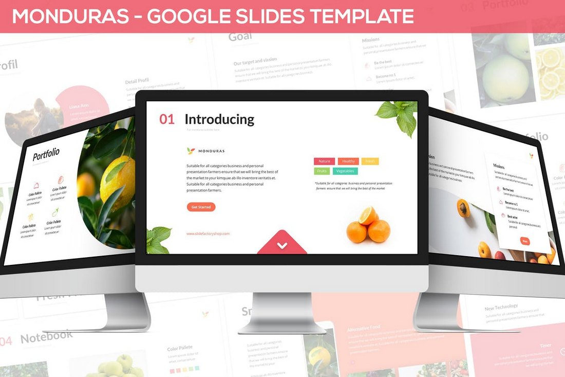 Monduras-Nature-Google-Slides-Template 15+ Google Slides Templates for Teachers design tips