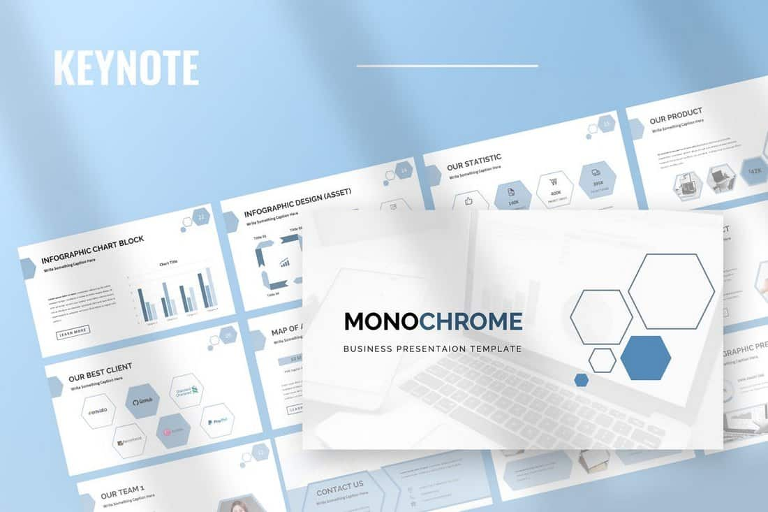 Monochrome - Business Keynote Presentation