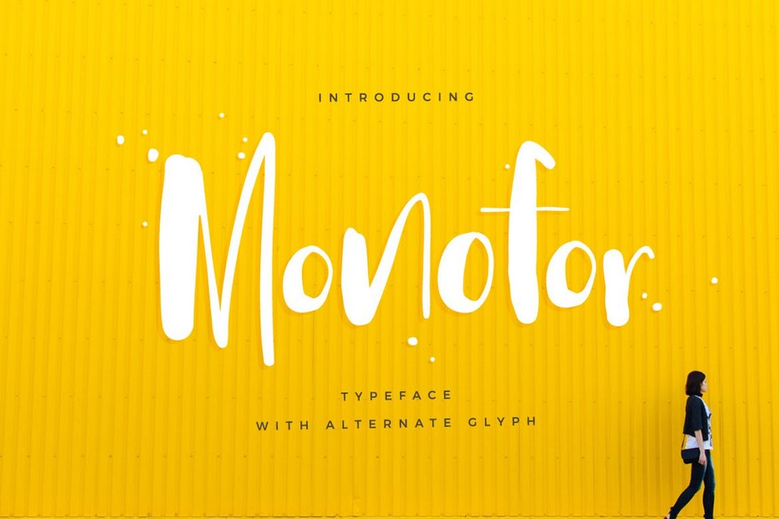 Monofor-Poster-Font 30+ Best Fonts for Posters design tips