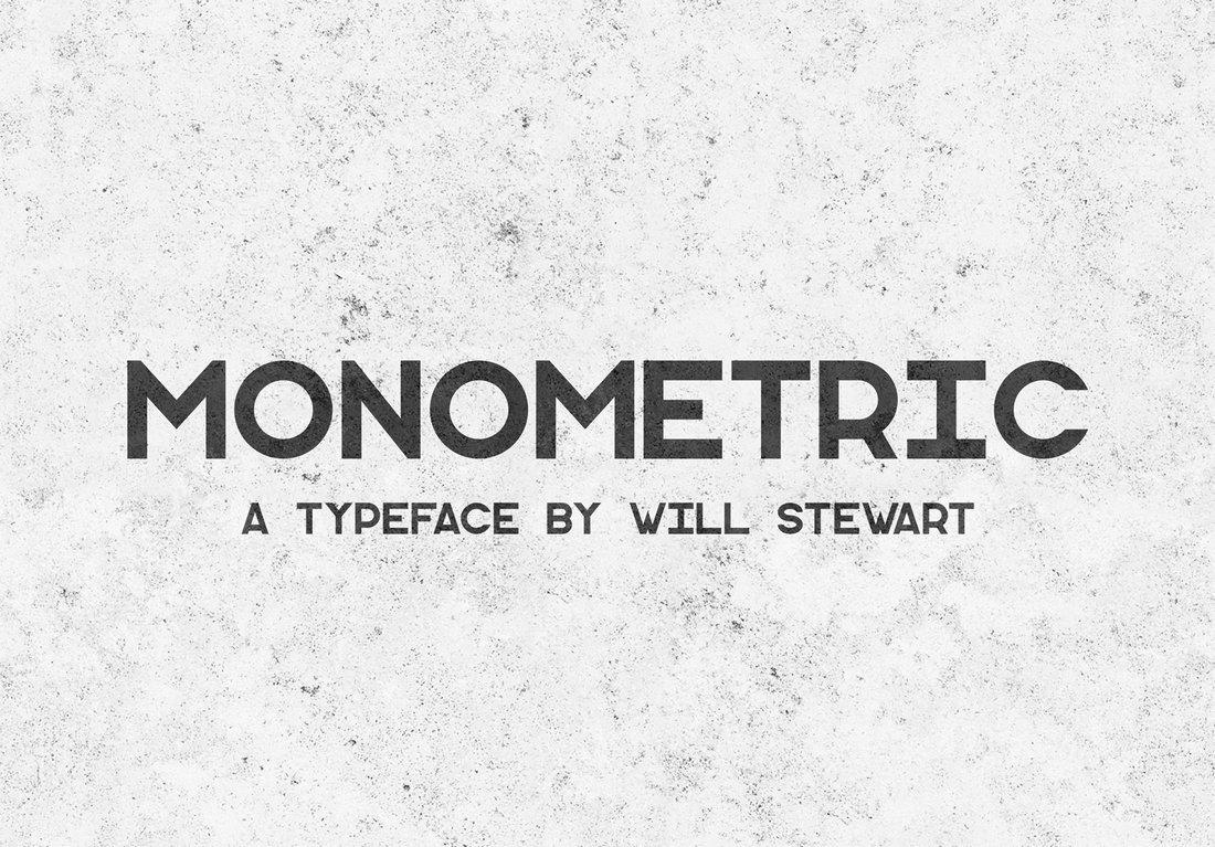 Monometric - Free Business Font