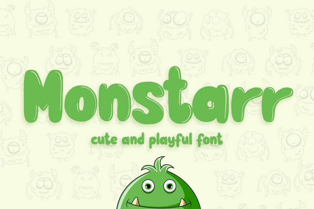 Monstarr-Playful-Handmade-Poster-Font 30+ Best Fonts for Posters design tips