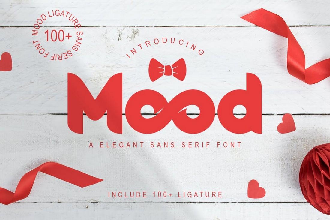Mood - Elegant Chunky Font