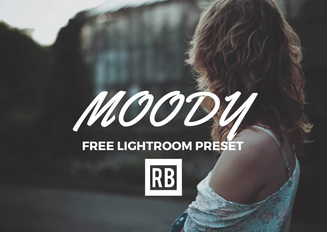 Moody - Free Lightroom Preset