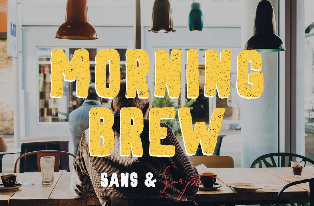 Morning Brew - Free Hand-Painted Font
