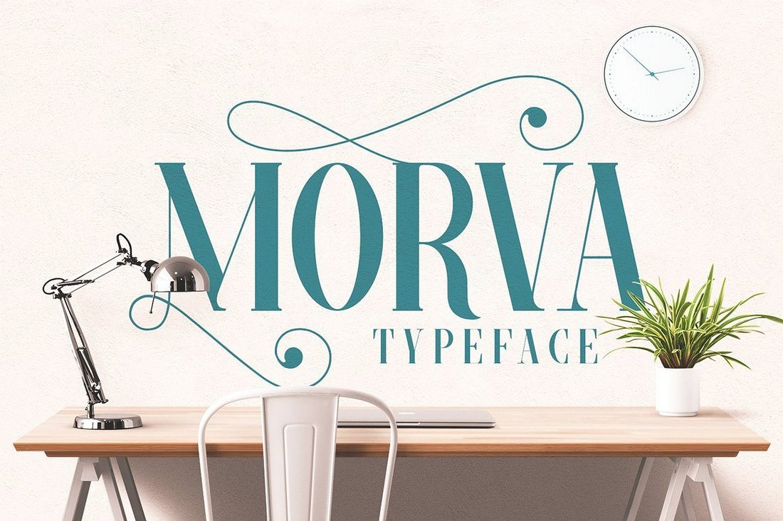 Morva - Free Creative Serif Font