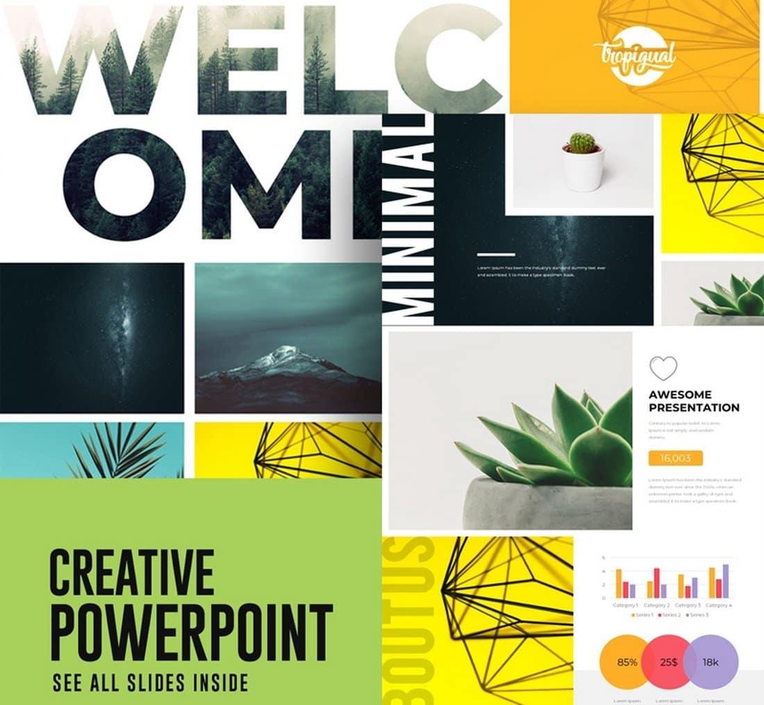 Motagua - Free Multipurpose PowerPoint Template