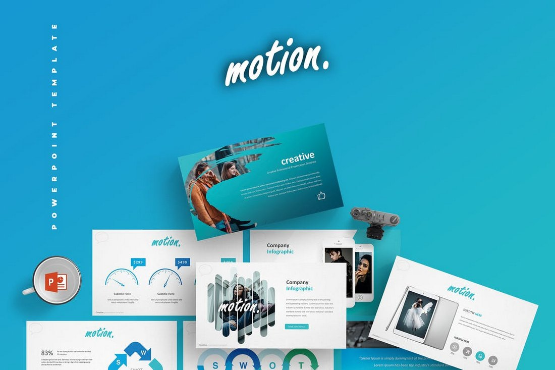 Motion-Cool-Powerpoint-Template 20+ Best Cool PowerPoint Templates design tips