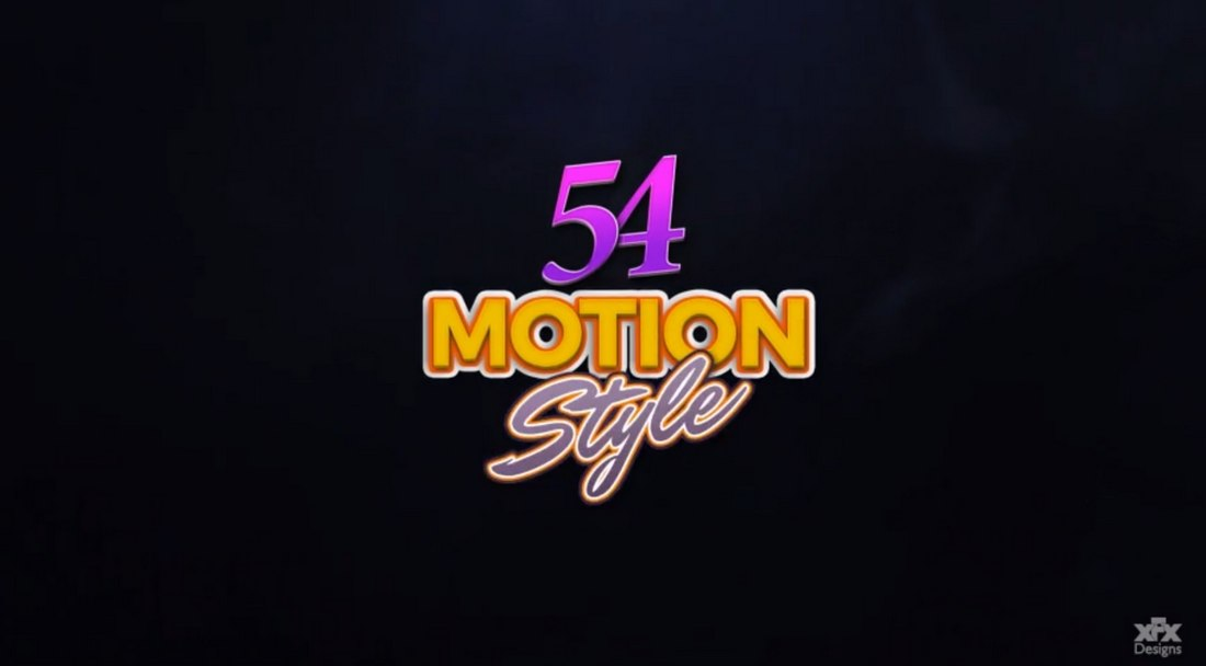 Motion Styles Toolkit - After Effects Text Effects
