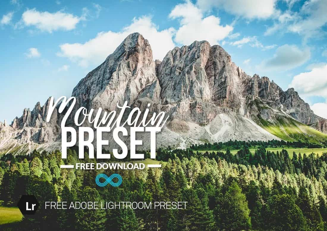 Mountain-Free-HDR-Lightroom-Preset 15+ Best HDR Lightroom Presets 2020 design tips  Inspiration