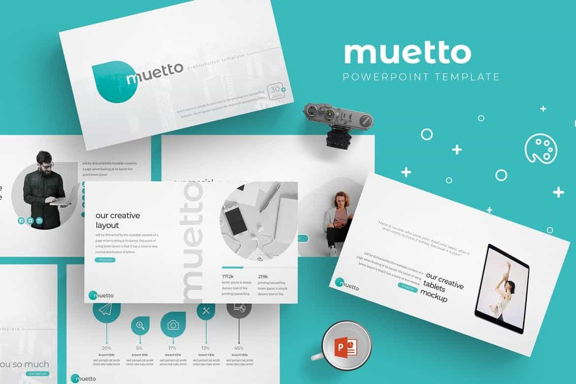 Muetto-Modern-Powerpoint-Template 30+ Animated PowerPoint Templates (Free + Premium) design tips