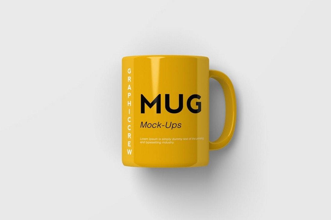 Mug Branding Logo Mockup