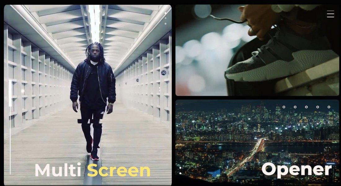 Multi-Screen Slideshow Template for Final Cut Pro
