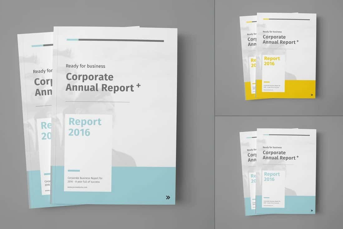 Multipurpose Annual Report Template