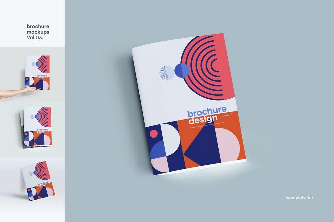 Multipurpose Brochure Mockup Template