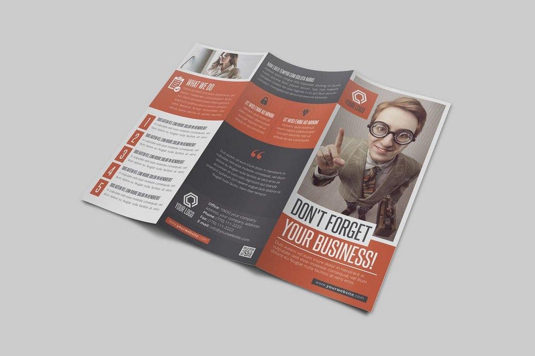 Multipurpose Business Trifold