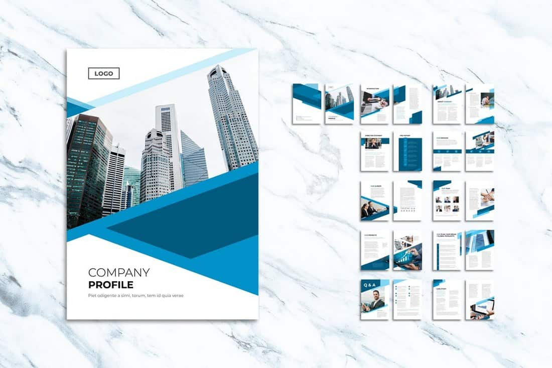 Multipurpose Company Profiles Brochure