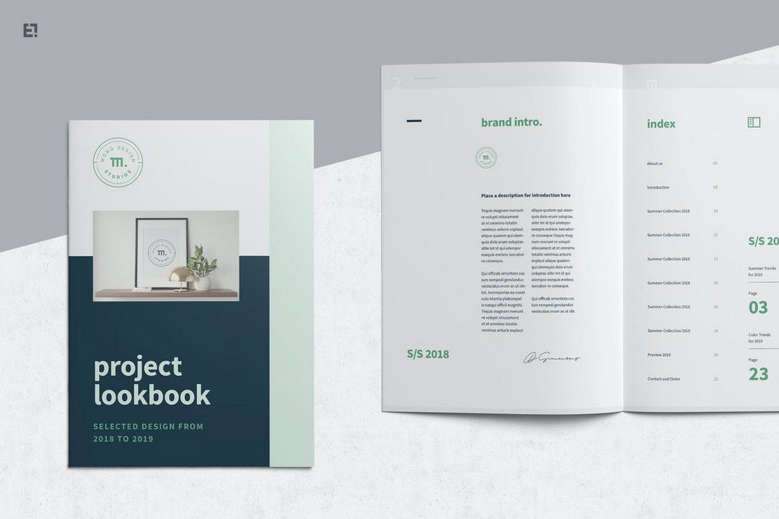 Multipurpose Lookbook and Portfolio Template