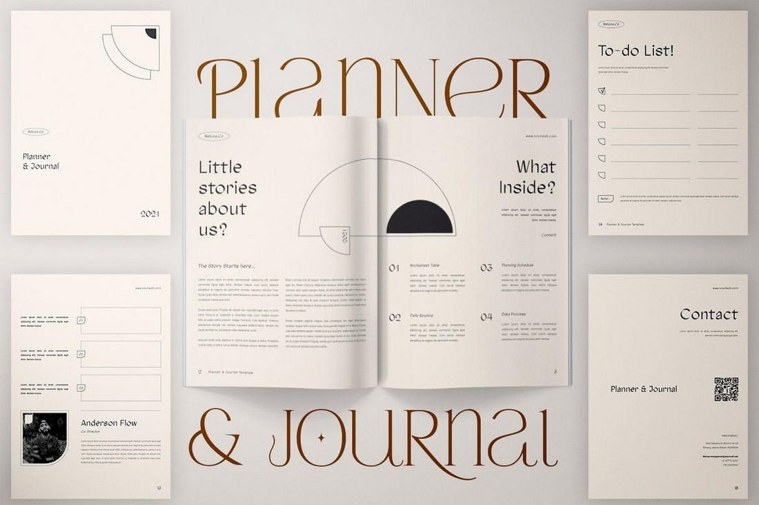 Multipurpose Planner & Journal Templates