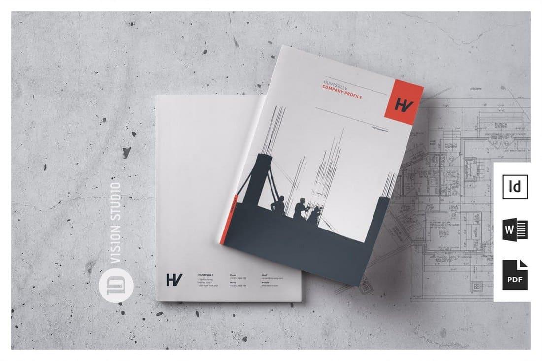 Multipurpose Word Company Profile Template