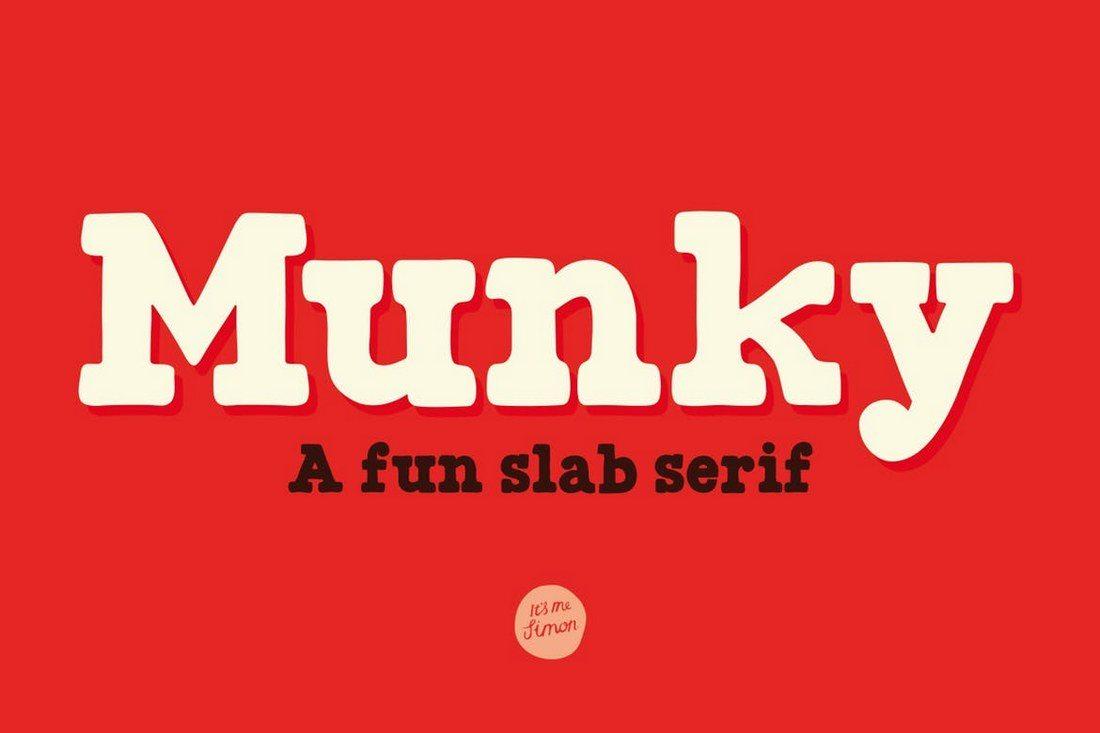 Munky-Slab-Ffont 50+ Best Slab Serif Fonts of 2021 design tips