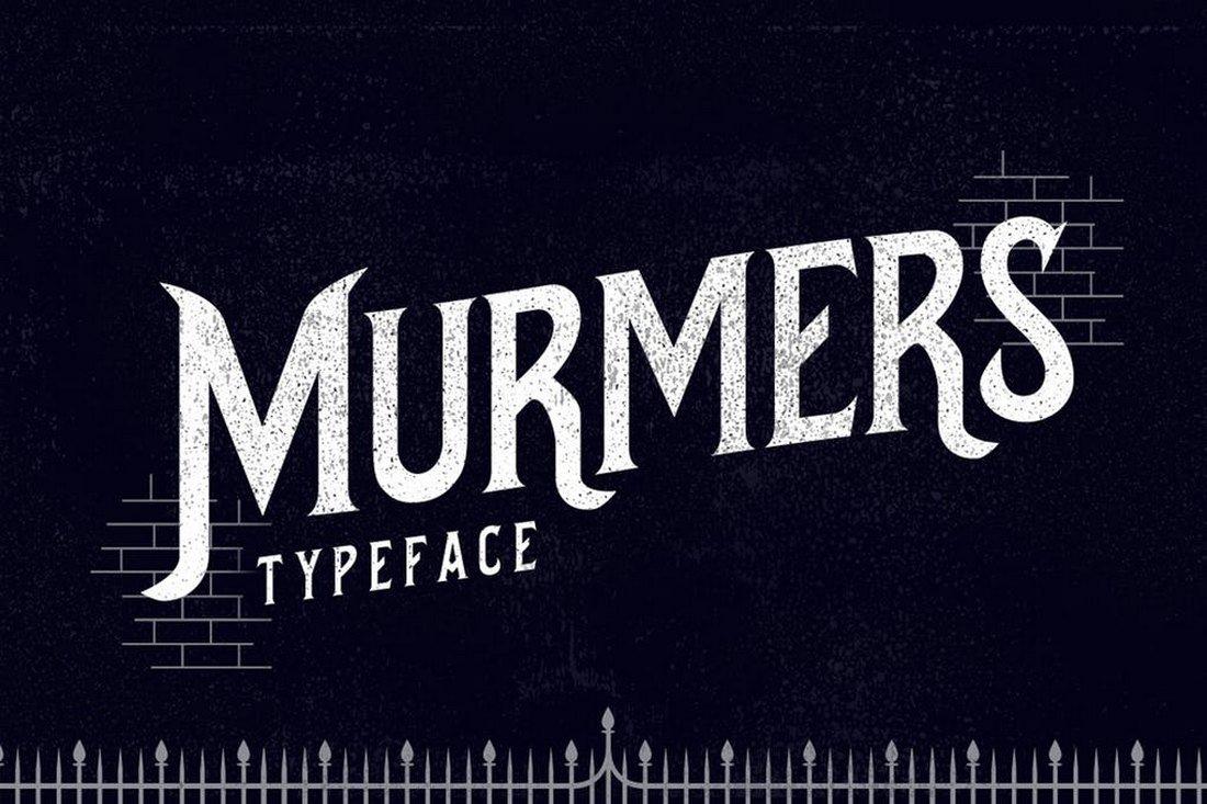 Murmers - Slab Serif Font