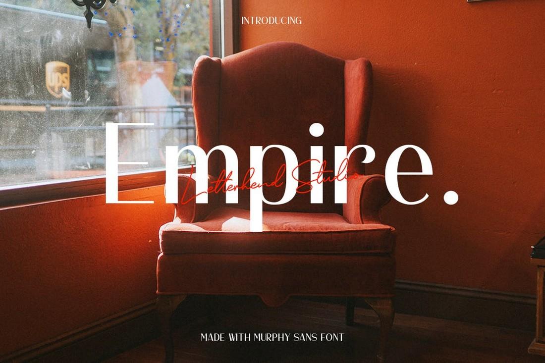 Murphy Sans - Elegant Business Font