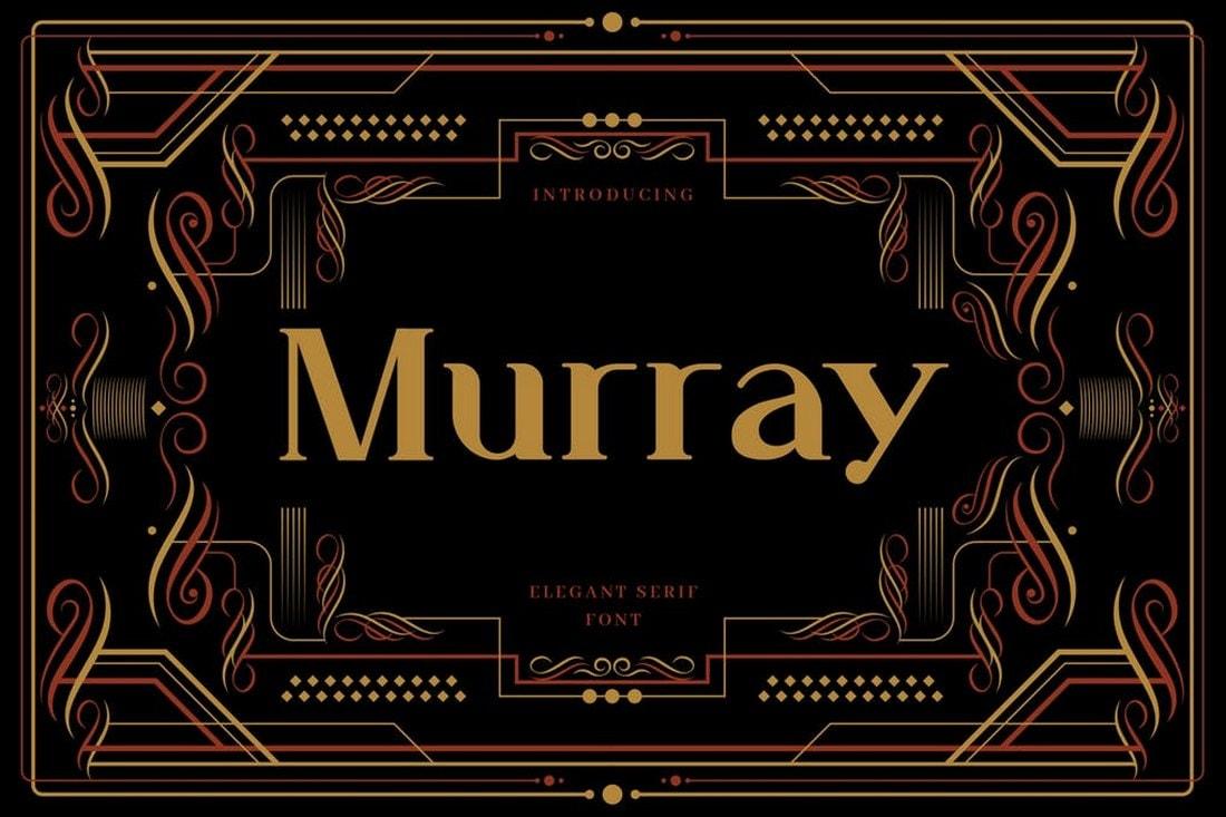 Murray - Art Deco Display Typeface