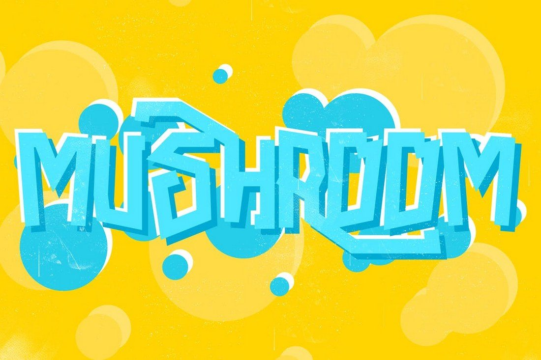 Mushroom-Font 30+ Best Fonts for Logo Design design tips