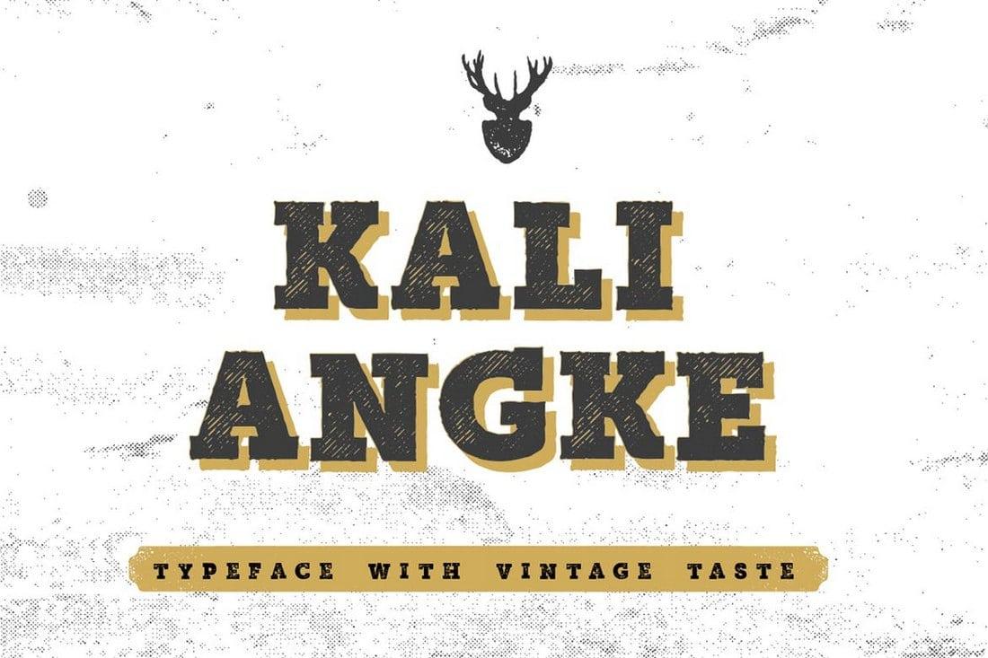 Mutiara Vintage Font
