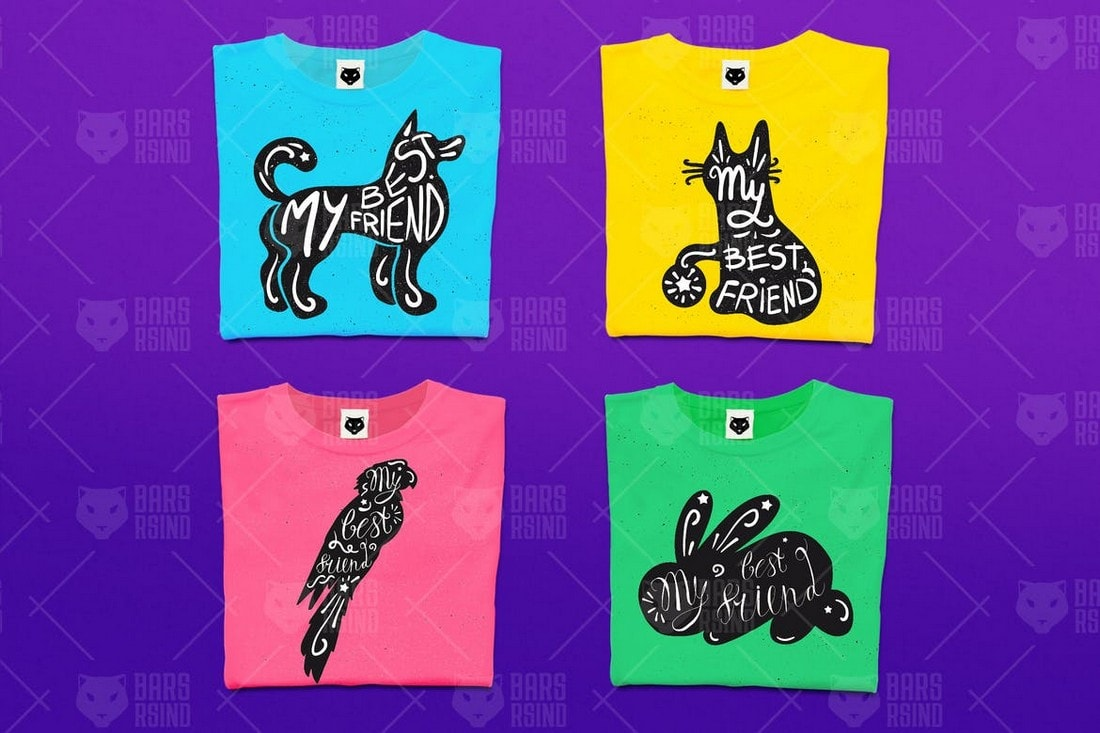 My-Best-Friend-tshirt-design 10+ Creative T-Shirt Design Ideas (How to Design a T-Shirt) design tips
