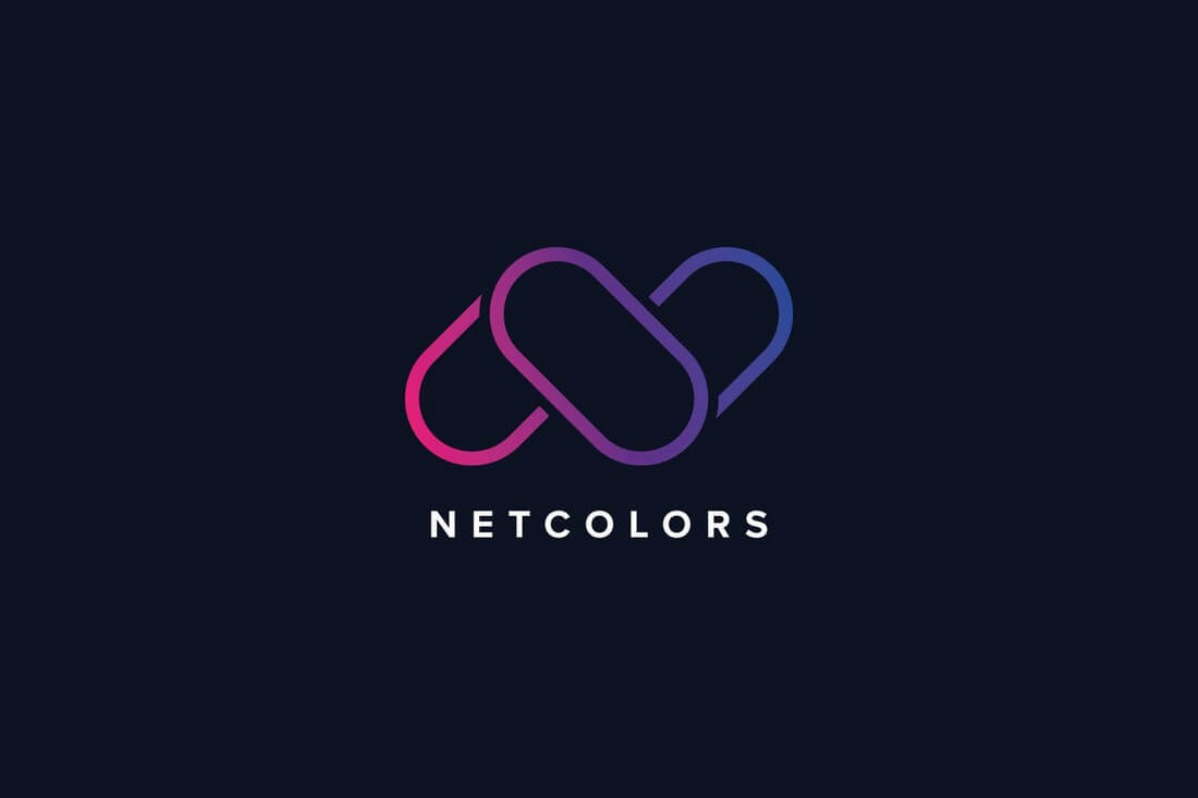 N-Letter-Colors-Logo-Template 50+ Best Minimal Logo Design Templates design tips