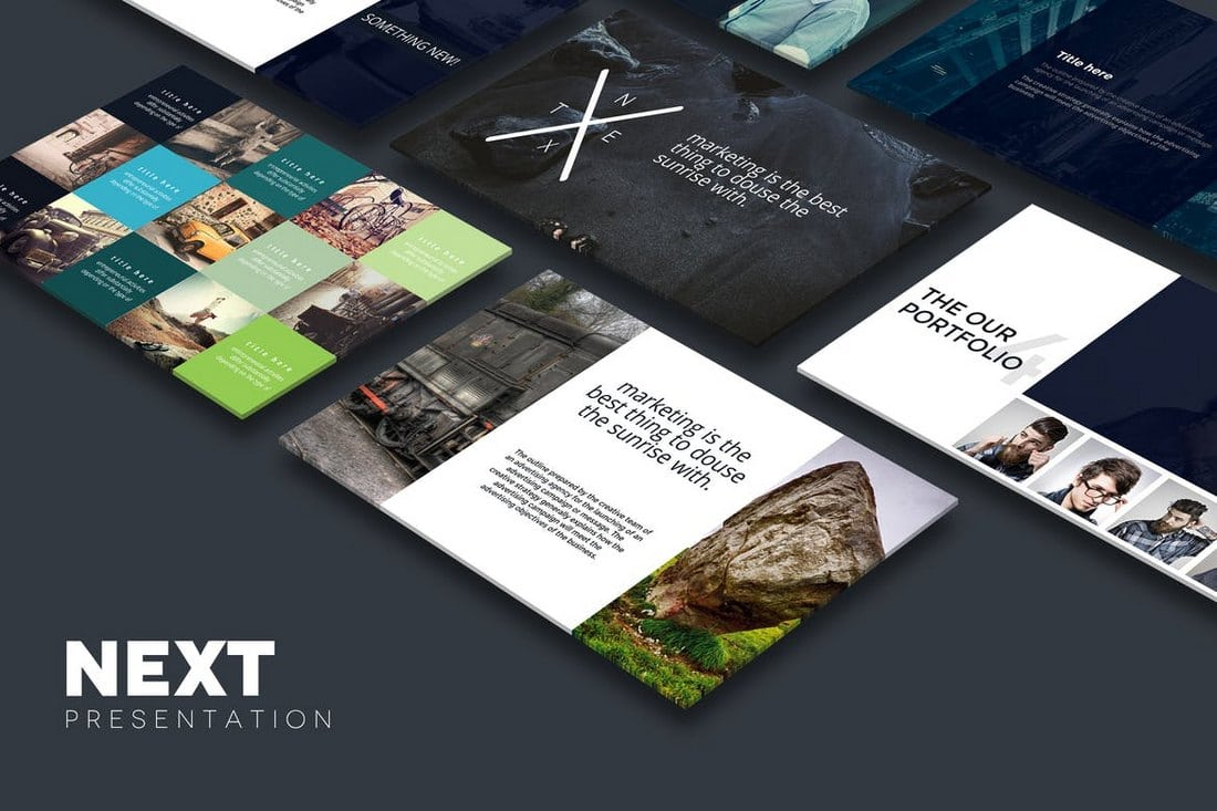 NEXT-Powerpoint-Template 20+ Modern Professional PowerPoint Templates design tips