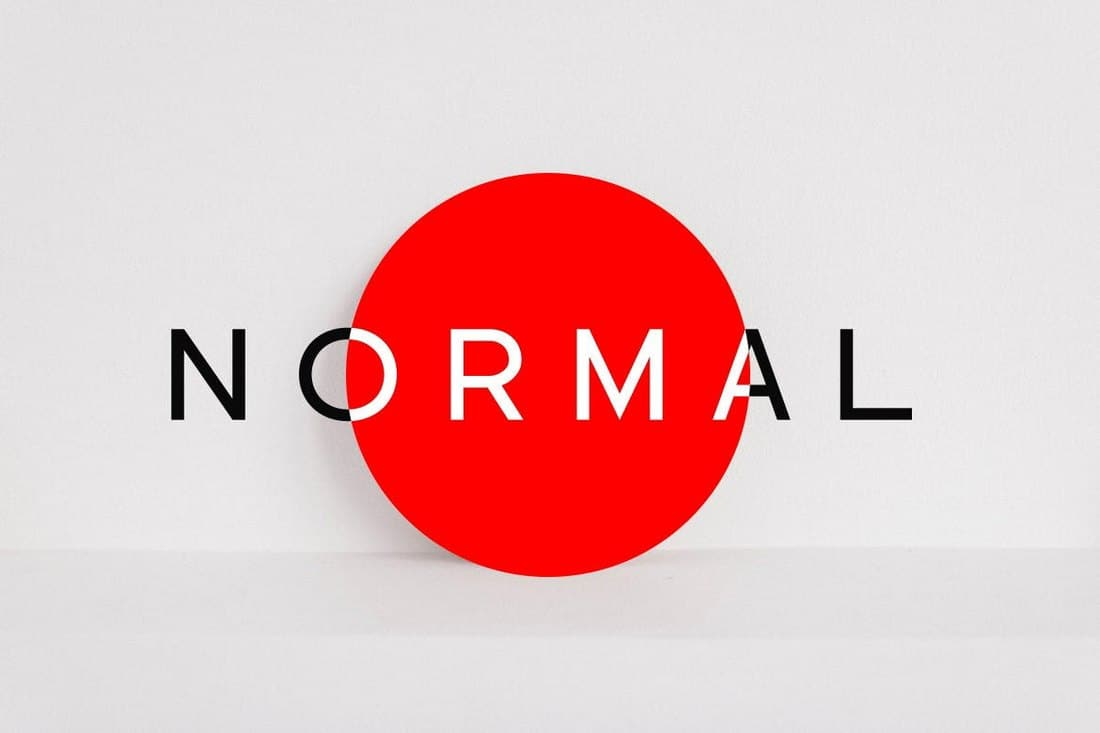 NORMAL-Minimal-Sans-Serif-Typeface-1 30+ Best Fonts for Signs design tips  Inspiration