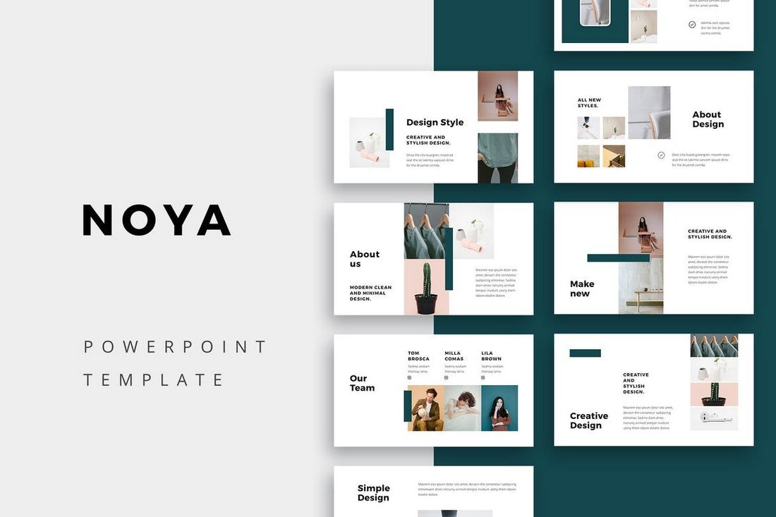 NOYA-Modern-Powerpoint-Template 20+ Simple PowerPoint Templates (With Clutter-Free Design) design tips  Inspiration|powerpoint