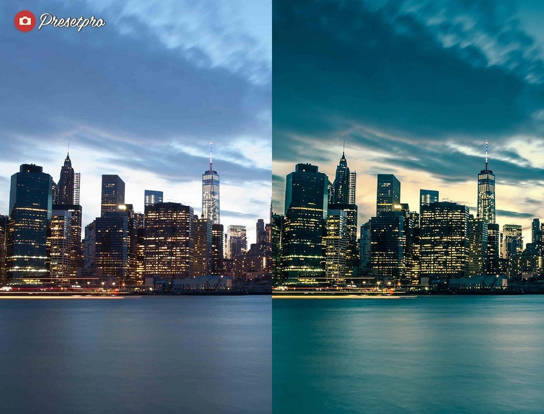 NY Skyline - Free Outdoor Lightroom Presets