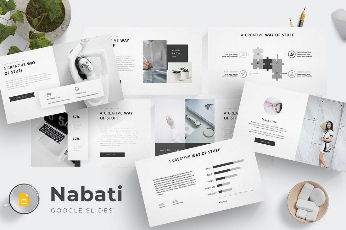 Nabati-Google-Slides-Template 35+ Best Google Slides Themes & Templates 2019 design tips