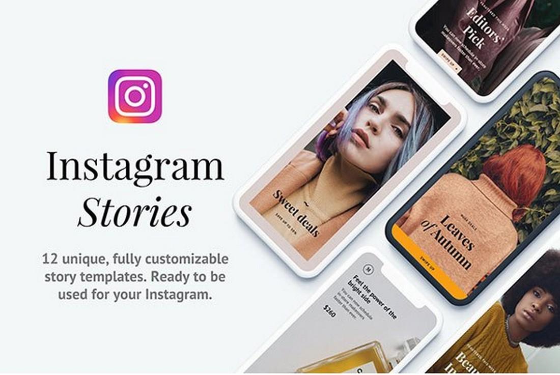 Napali - 12 Free Instagram Story Templates