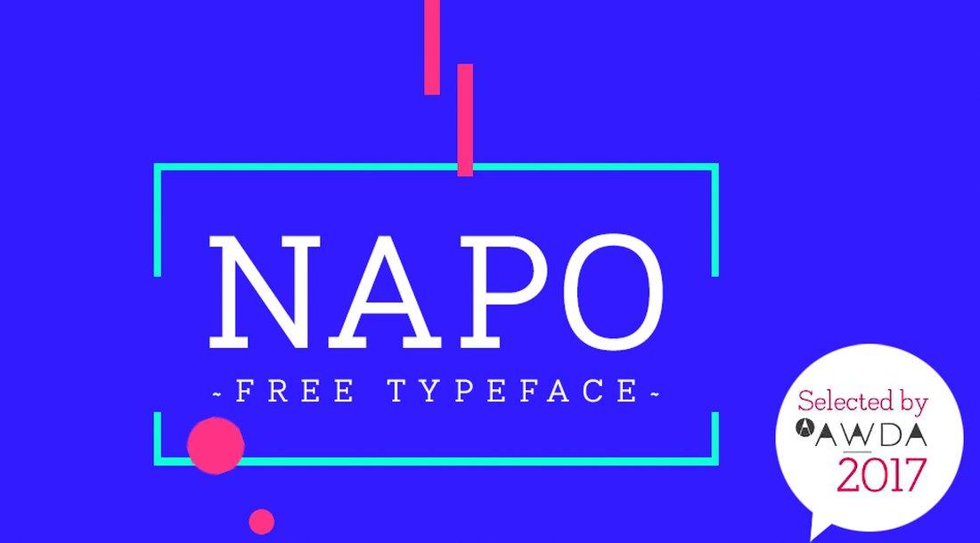 Napo - Free Slab Serif Font